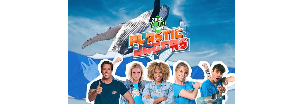 Kinderen helpen walvissen met NPO Zapp Your Planet: Plasticjagers