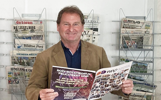 Roy Keller, Voorzitter Nederlandse Nieuwsblad Pers
