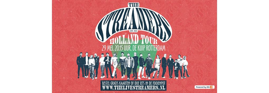 Laatste concert The Streamers trekt 1,7 miljoen kijkers