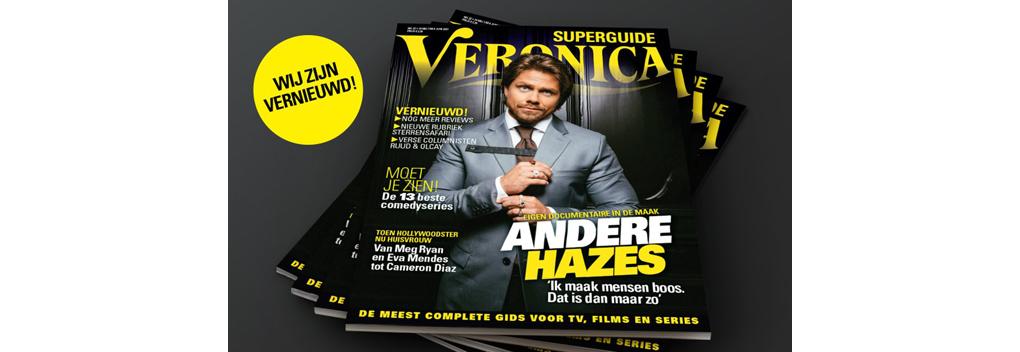 Veronica Magazine omgedoopt in Veronica Superguide