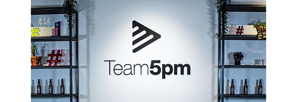 5PM en Studio Catwise verder als Team5pm
