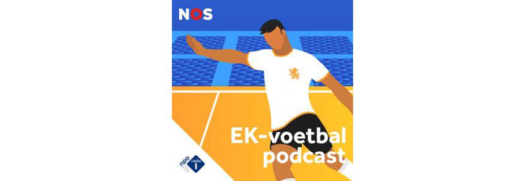 NOS lanceert EK-voetbalpodcast