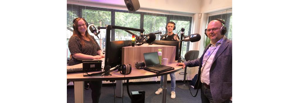 Robert Kleine en Jeroen Huizing over de lokale omroep ZO!34