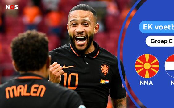 Veel kijkers zien Nederlands elftal winnen van Noord-Macedonië