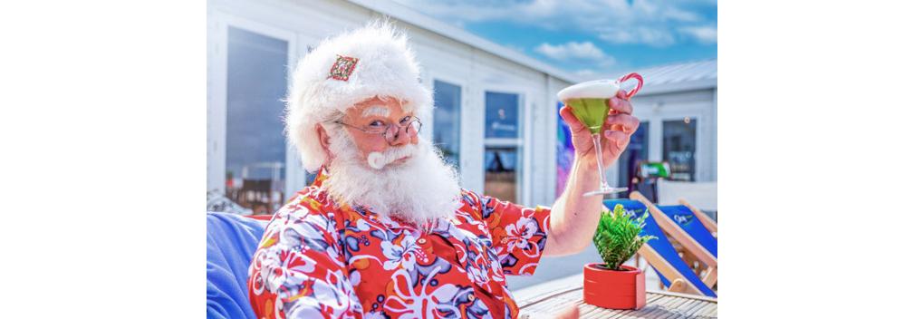 Sky Radio organiseert de Inhaal Kerstborrel op het strand