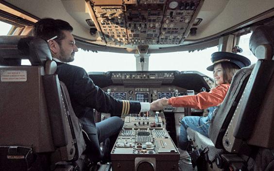 Eerste beelden van speelfilm Mijn vader is een vliegtuig