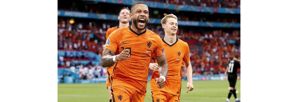 EK-wedstrijd Nederland-Oostenrijk goed bekeken
