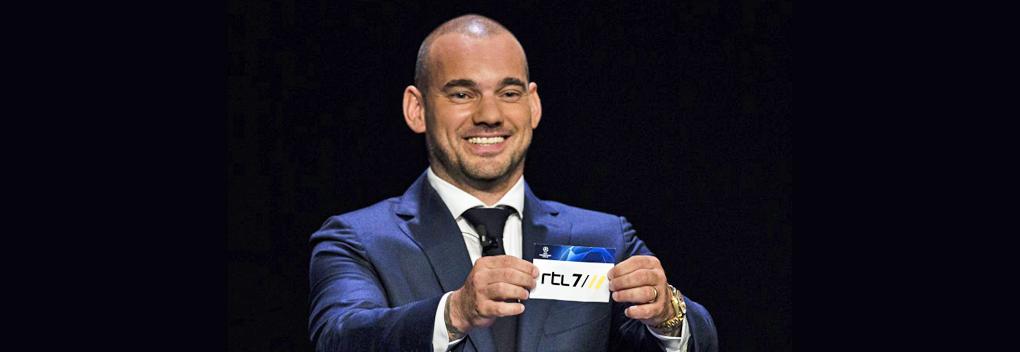 Wesley Sneijder vaste analist UEFA Champions League bij RTL 7