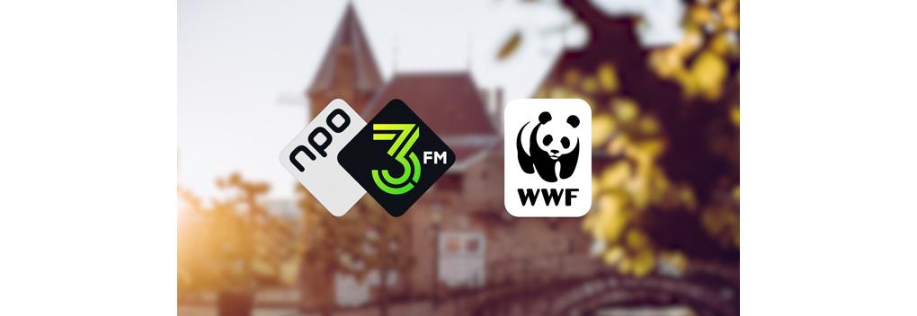 Wereld Natuur Fonds nieuwe partner 3FM Serious Request