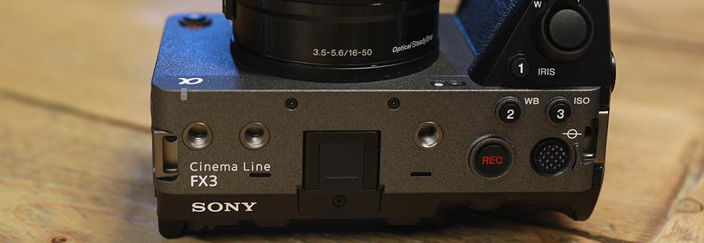 Zes redenen om de Sony FX3 te kopen