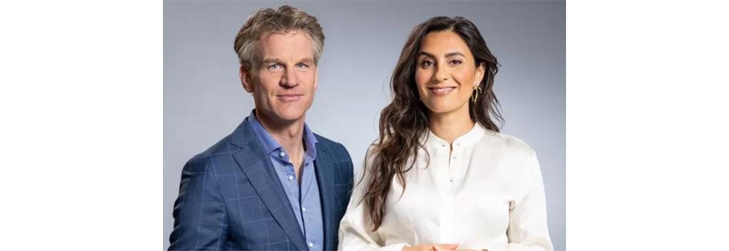 Nadia Moussaid en Hugo Logtenberg nieuw duo bij Op1