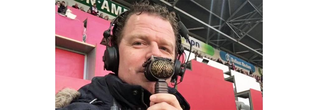 Jeroen Elshoff voorziet wedstrijden vanuit quarantainehotel van commentaar