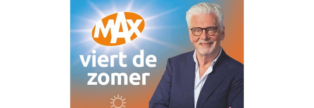 Omroep MAX lanceert campagne: MAX viert de zomer