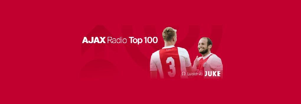 Edwin van der Sar en Stefan Stasse presenteren finale Ajax Radio Top 100