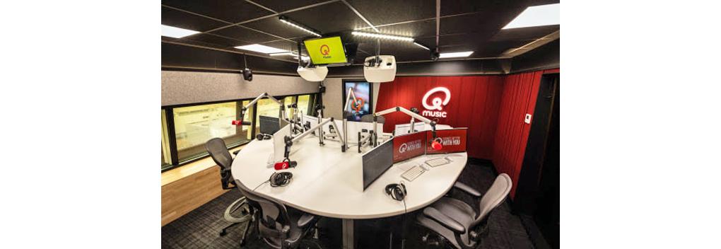 Nieuwe studio, nieuwe jingles en vertrouwde shows op Qmusic