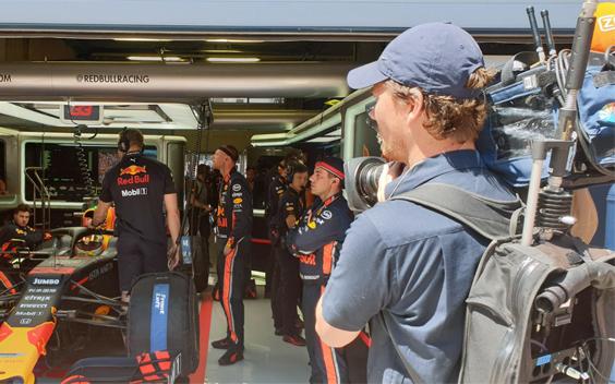 Broadcast Rental: Geoliede machine in Formule 1-circus
