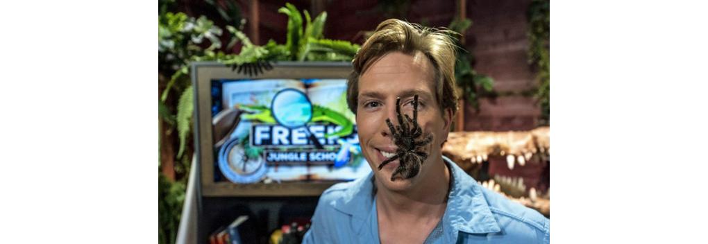 Nieuw seizoen van Freeks Jungle School bij BNNVARA op NPO Zapp