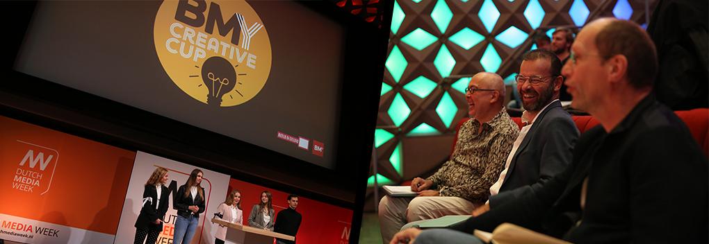 Jury en pitchers blij na BMY Creative Cup