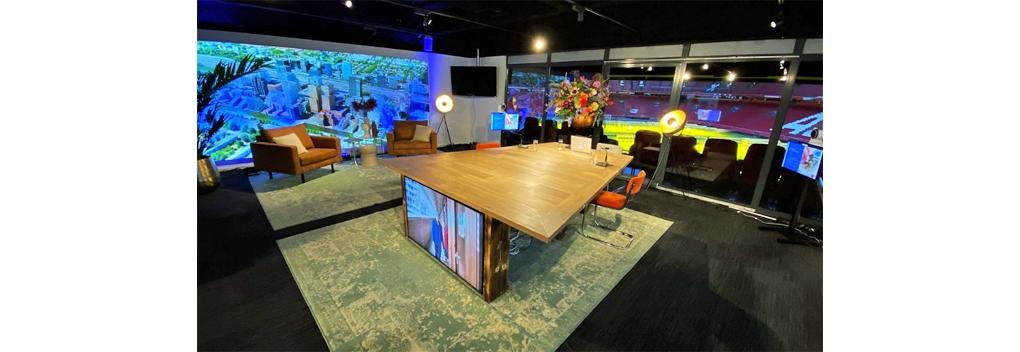 Online Seminar opent nieuwe studio in Johan Cruijff ArenA