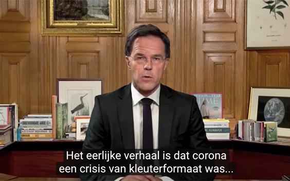 De Correspondent maakt deepfakevideo met Mark Rutte