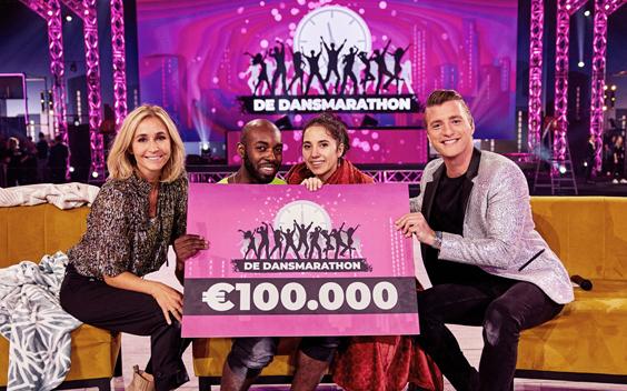 De Dansmarathon op SBS6 sluit af met 1 miljoen kijkers